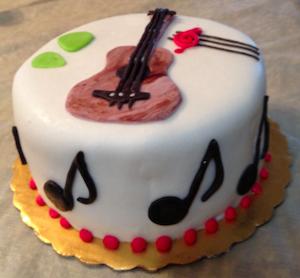 Marvelous Guitar Birthday Cake Major Birthdays Funny Birthday Cards Online Alyptdamsfinfo