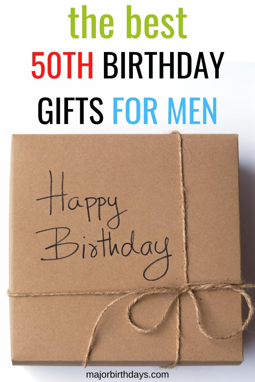 The best 50th birthday gifts for men