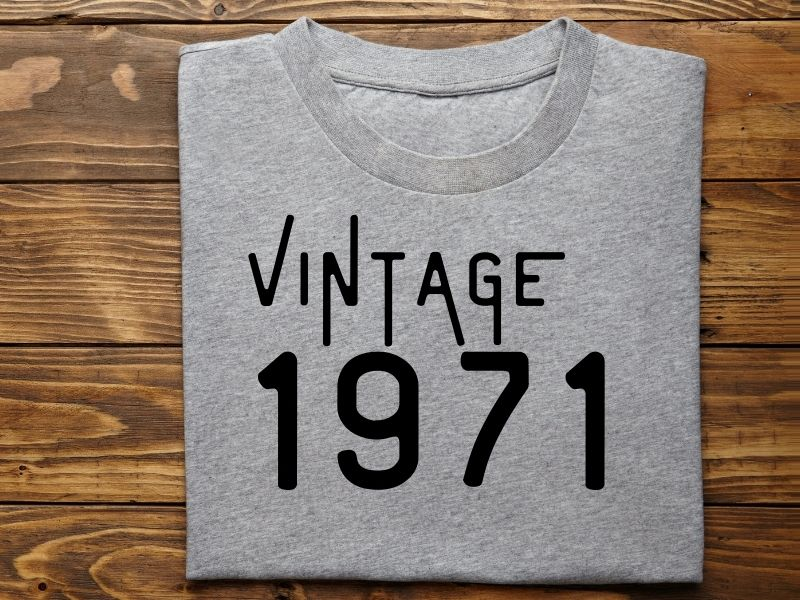 vintage 1971 teeshirt