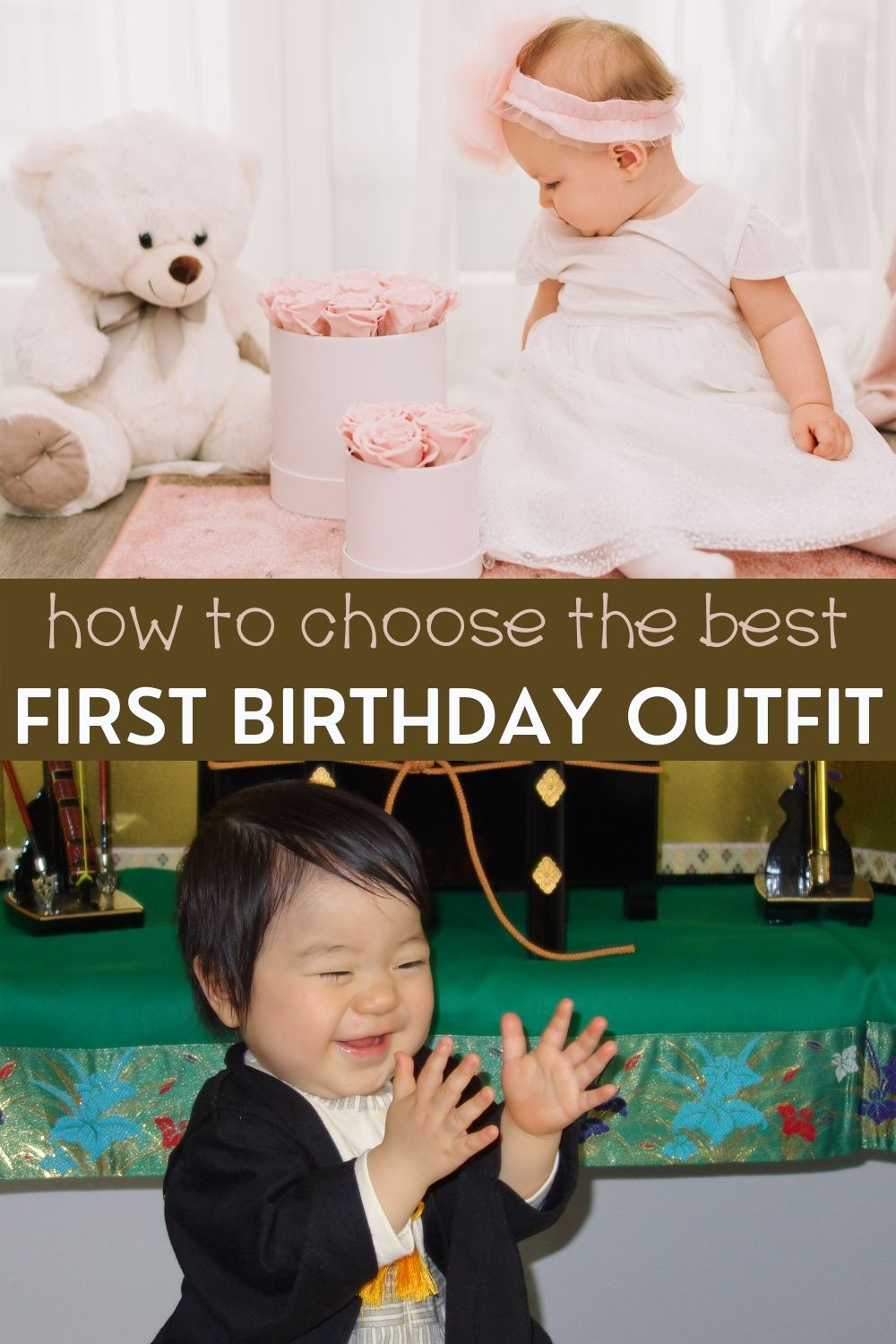 How to choose the best first birthday outfit