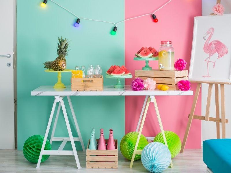 fruit party theme decorations